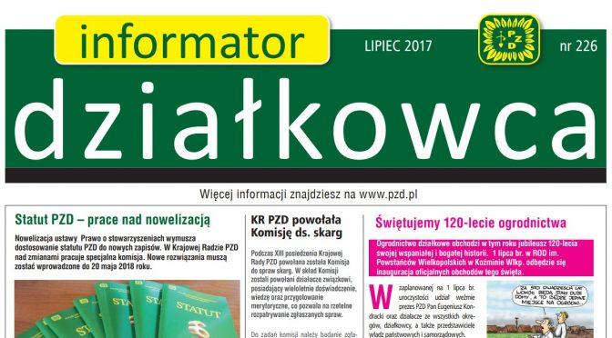 Informator Działkowca – lato 2017