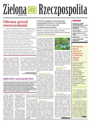 Zielona Rzeczpospolita - wiosna 2019